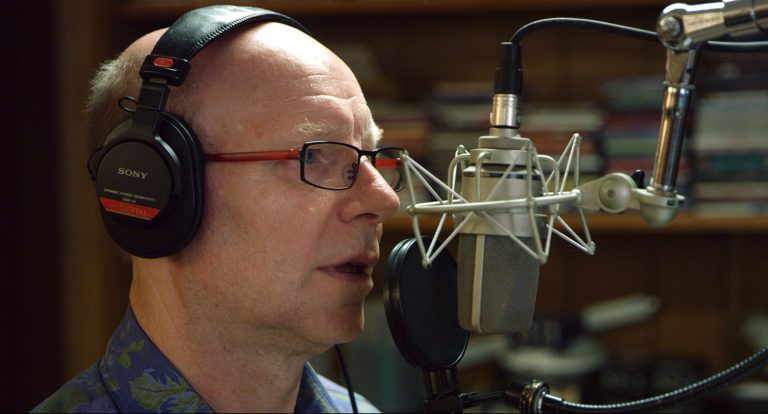 Doug McCorkle at microphone