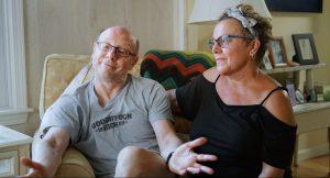 Doug and wife Regina