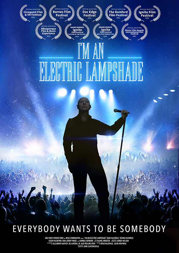 I'm an Electric Lampshade poster